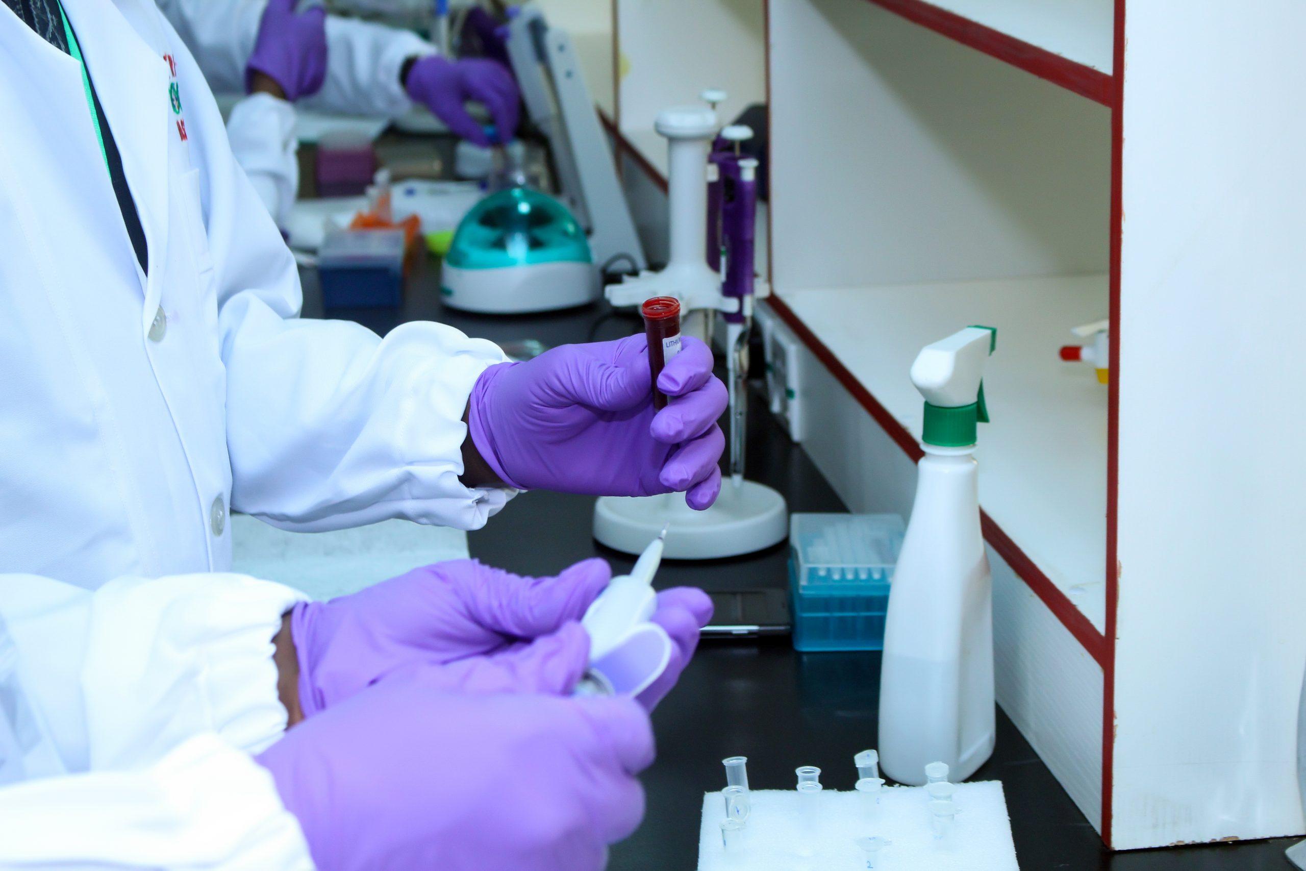 African Biosciences Lab Work