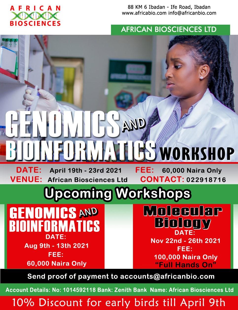Africanbio Genomics & Bioinformatics Workshop