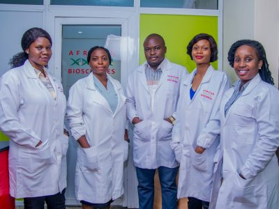 Cross Setion of African Biociences Lab Scientists