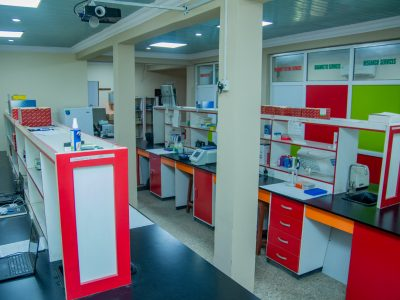 Lab Space at African Biosciences