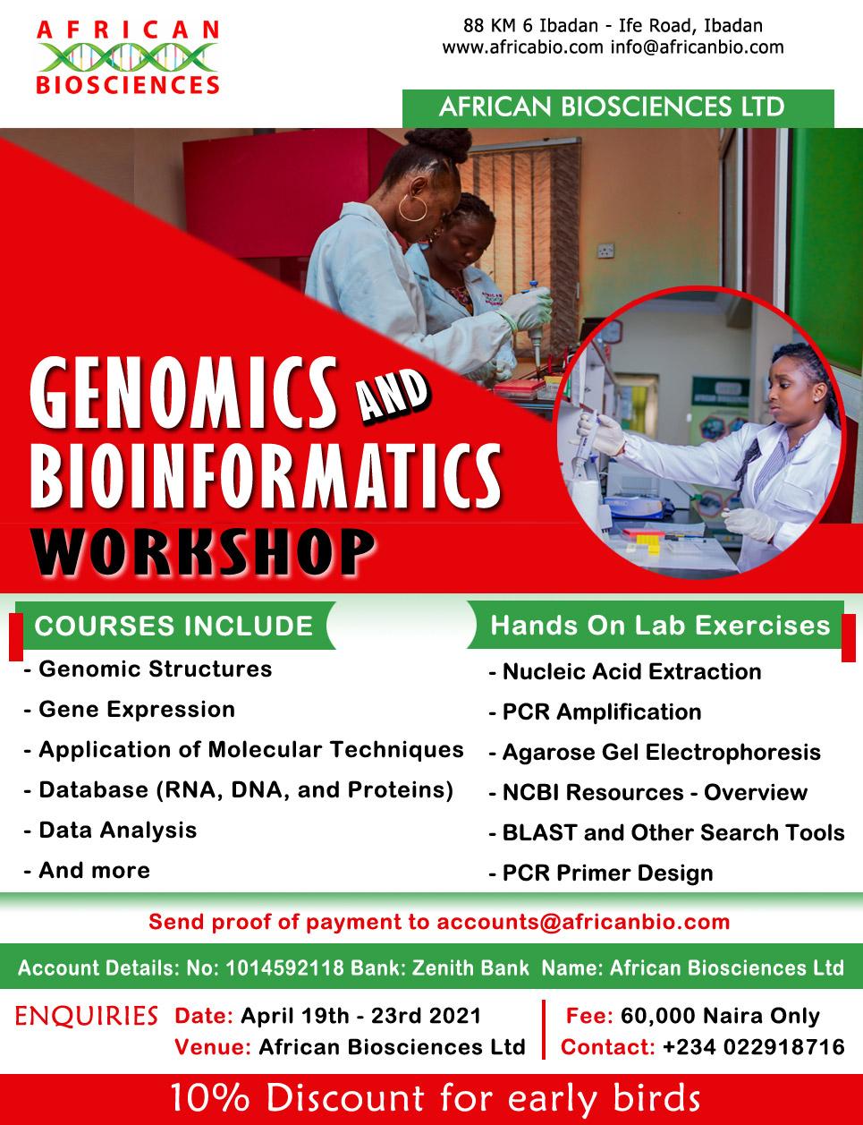 Africanbio Genomics Bioinformatics