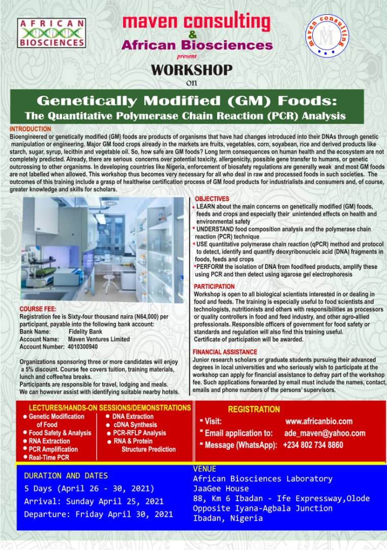 AfricanBio and Maven Consulting-Genetically Modified Food